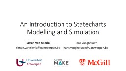 An Introduction to Statecharts Modelling and Simulation