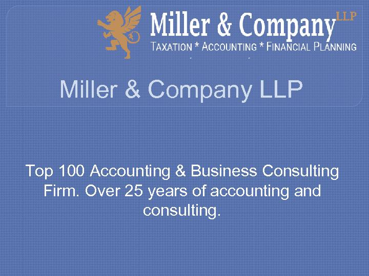 Miller & Company LLP