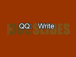QQ:   Write & name the formula of the ionic compound created when a chromium (II) PowerPoint PPT Presentation