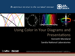 Using Color in Your Diagrams and Presentations