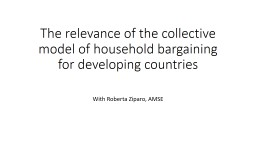 The relevance of the collective model of