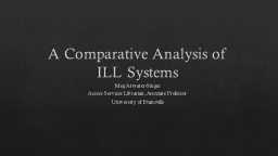 A Comparative Analysis of