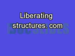 Liberating structures. com