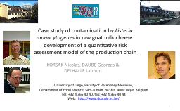 Case study of contamination by