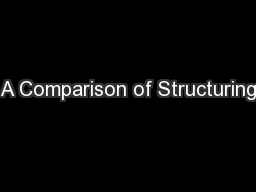 A Comparison of Structuring