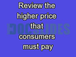 Clicker Review the higher price that consumers must pay