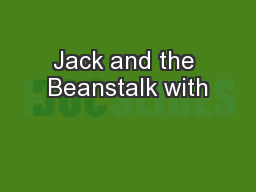 Jack and the Beanstalk with
