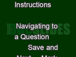 AEAEROSPACE ENGINEERING      General Instructions                            Navigating to a Question            Save and Next     Mark for Review and Next   e
