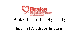 Brake, the road safety charity