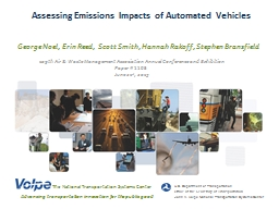Introduction to Automated Vehicles PowerPoint Presentation, PPT - DocSlides