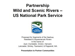 Partnership  Wild and Scenic Rivers PowerPoint PPT Presentation