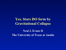 Yes,  Stars DO  form  by Gravitational Collapse