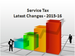 Service  Tax   Latest  Changes - 2015-16 PowerPoint PPT Presentation