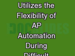 How  Delta Air Lines  Utilizes the Flexibility of AP Automation During Difficult Business Transitio