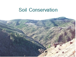 Soil Conservation Harvest Plan � Schedule O