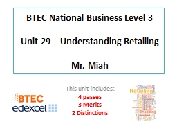 BTEC National Business Level 3