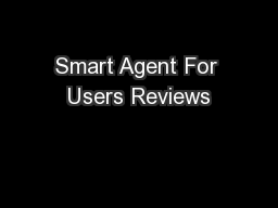 Smart Agent For Users Reviews