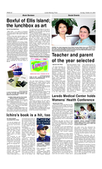Sunday October   Laredo Morning Times PAGE C Book Revi PowerPoint PPT Presentation