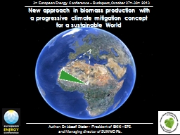 New  approach   in   biomass