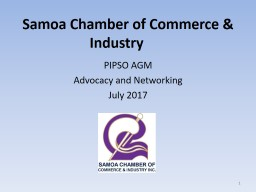 Samoa Chamber of Commerce & Industry