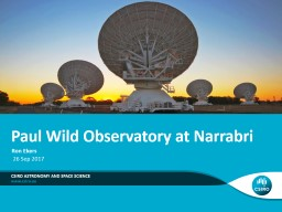 26  Sep  2017 Csiro  astronomy and space science