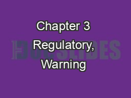 Chapter 3 Regulatory, Warning & Guide Signs Overview
