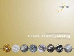 European Precious Metals Federation