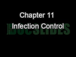 Chapter 11 Infection Control