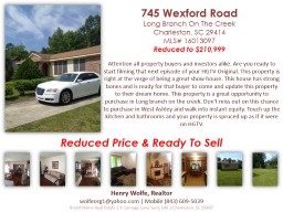 Reduced Price & Ready To Sell