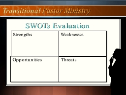 SWOTs Evaluation Strengths