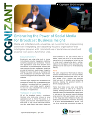 Embracing the Power of Social Media for Broadcast Busi
