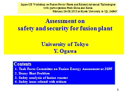 Japan-US  Workshop  on Fusion