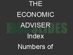GOVERNMENT OF INDIA MINISTRY OF COMMERCE  INDUSTRY OFFICE OF THE ECONOMIC ADVISER Index Numbers of Wholesale Price in India Base  Review for the month of September  The official Wholesale Pric