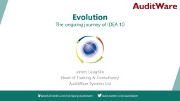 Evolution The ongoing journey of IDEA 10