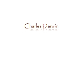 Charles Darwin Facts & Figures