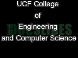 UCF College of Engineering and Computer Science