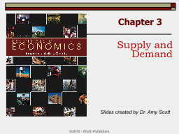 Chapter 3 �2010  ?  Worth Publishers