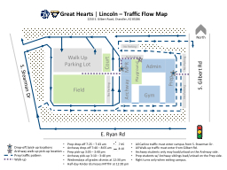 Great Hearts � |  Lincoln � Traffic Flow Map