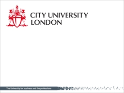 Welcome to City! Who studies at City?