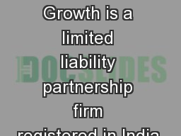 LEAD Business Growth is a limited liability partnership firm registered in India.