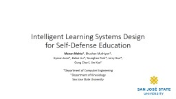 Intelligent Learning Systems Design