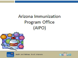 Arizona Immunization  Program Office