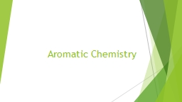 Aromatic  Chemistry Index PowerPoint PPT Presentation