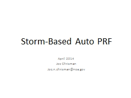 Storm-Based Auto PRF April 2014