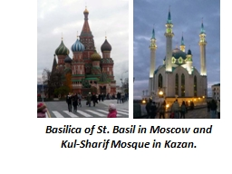 Basilica of St. Basil in Moscow and
