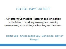 A Platform Connecting Research and Innovation with Action – working across governments,