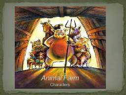 Animal Farm Characters Original owner of Manor Farm