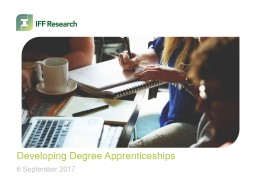 Developing Degree Apprenticeships PowerPoint Presentation, PPT - DocSlides