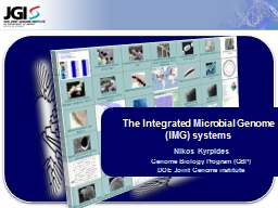 The Integrated Microbial Genome (IMG) systems