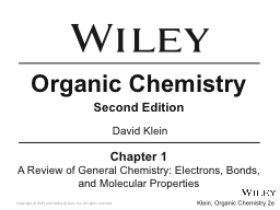 Organic Chemistry Second Edition